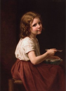 Soup, By William Adolphe Bourguereau, 1865