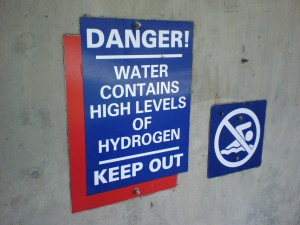 Danger--sign contains the obvious